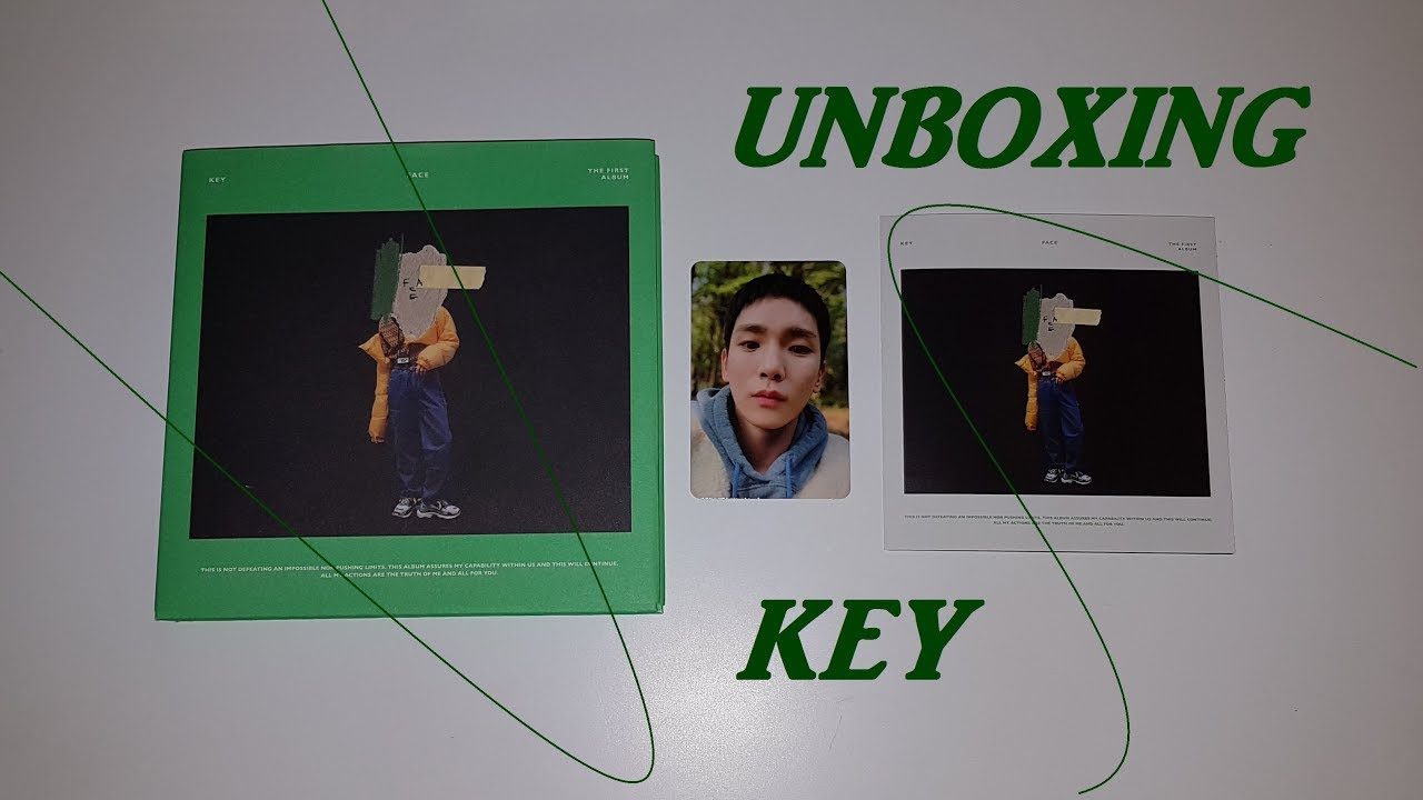 SHINee: KEY - 1st Album [FACE] Unboxing