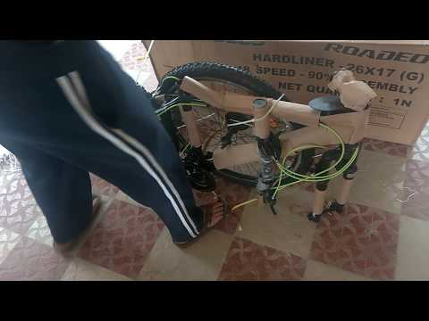 Bicycle Unboxing   Hercules Roadeo hardliner India   Online Order   MTB Cycle
