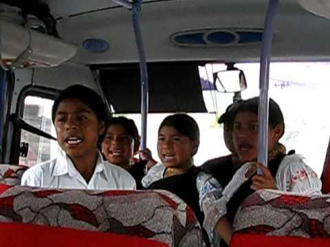 Otavalo, Ecuador Kids Sing in Quechua