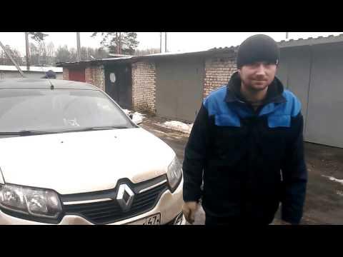 Замена масла и масляного фильтра на Рено Логан 2 Мотор 1.6 Renault Logan 2 как поменять XXX