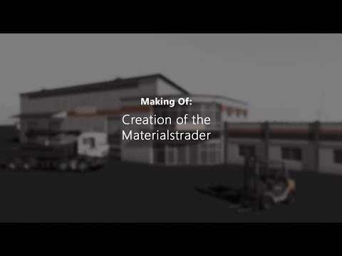 Making of: Construction Simulator 2015 -- Creation of the big Materials Trader