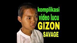 Video lucu Gizon savage