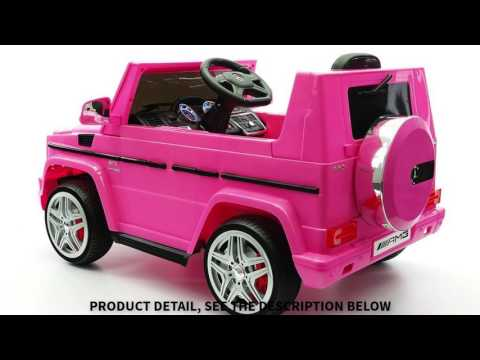 2017 LICENSED MERCEDES G65 AMG ELECTRIC KIDS RIDE ON CAR