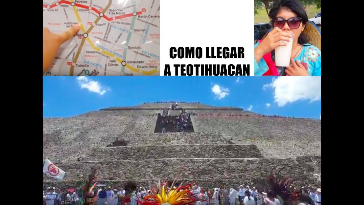 Como llegar a teotihuac n en metro y autob s for Como llegar a getafe