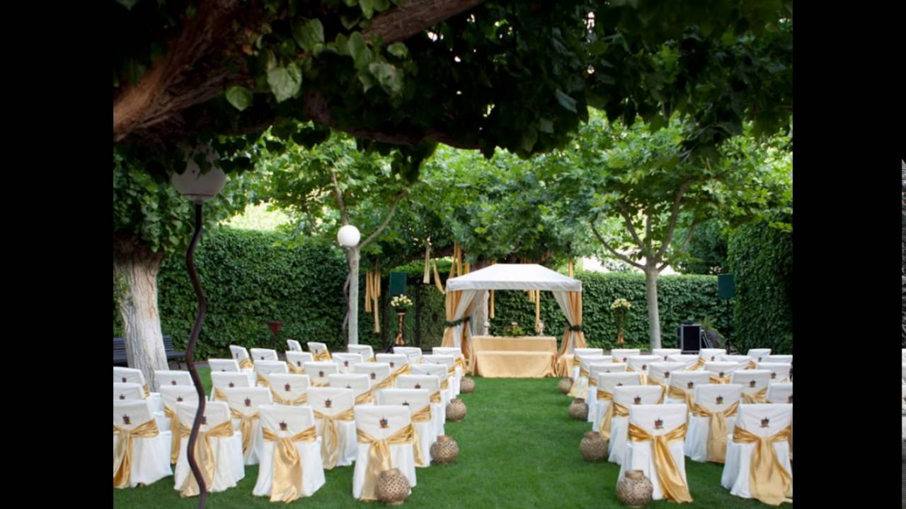 decoracion de boda al aire libre 2016 youtube