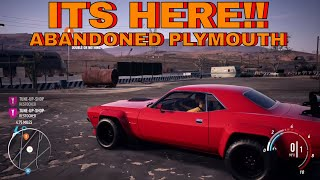 NEED FOR SPEED PAYBACK ABANDONED PLYMOUTH