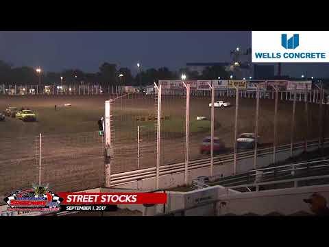Wells Concrete Street Stock Highlights - River Cities Speedway - September 1, 2017