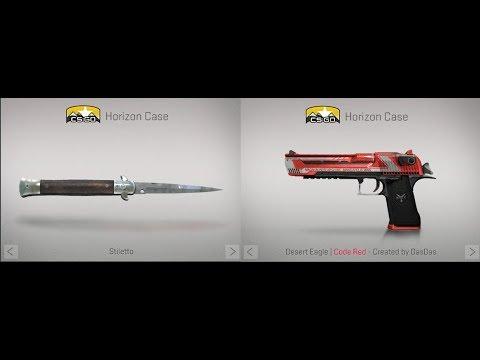 csgo horizon case knives