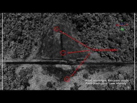 Airborne LiDAR Data of El Yunque Landslide
