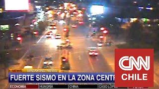 Así se sintió en vivo el terremoto en CNN Chile thumbnail