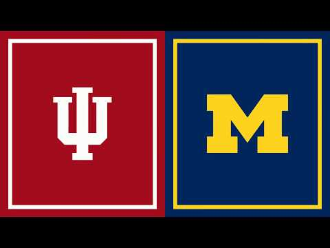 First Half Highlights: Michigan at Indiana | Big Ten Basketball
