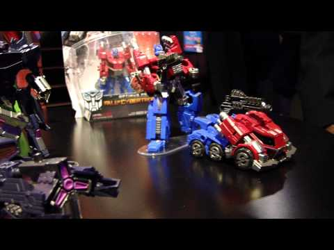 Transformers Fall of Cybertron Figures - Toy Fair 2012