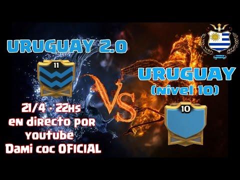 DIRECTO Guerra - URUGUAY niv 10 vs URUGUAY 2.0 Copa Uruguaya de COC