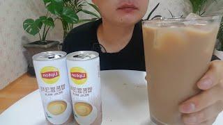 립톤 밀크티 음료수 먹방 lipton milk tea …