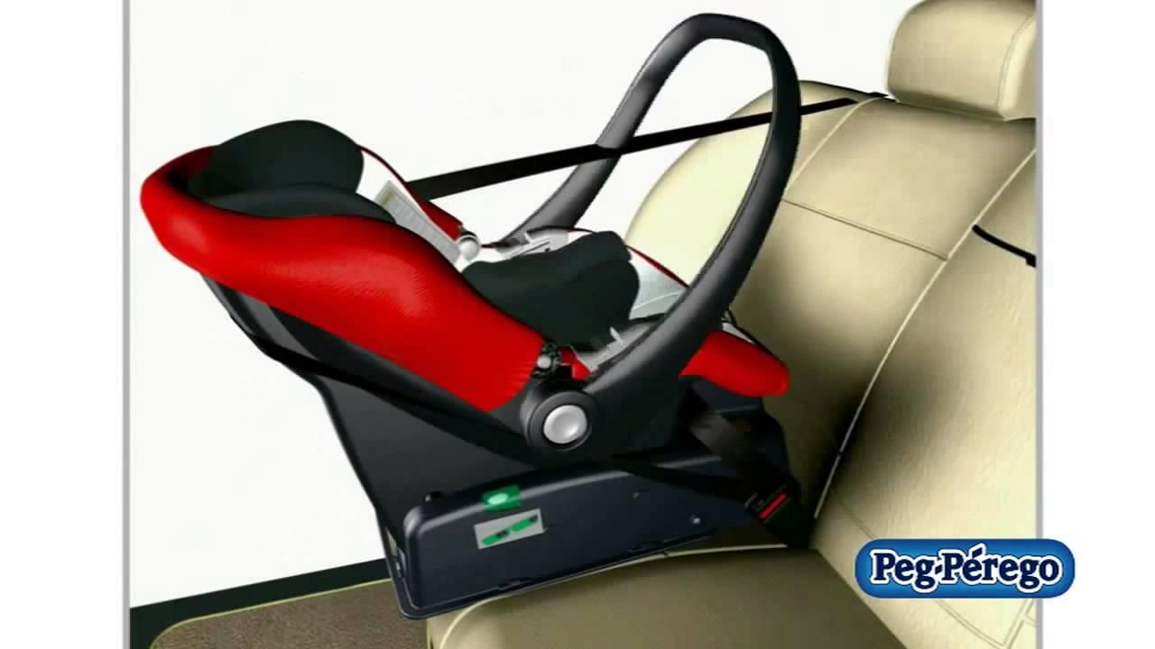 peg perego car seat primo viaggio tri fix base youtube. Black Bedroom Furniture Sets. Home Design Ideas