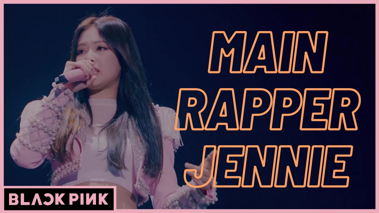 [BLACKPINK] 제니가 메인 래퍼가 된 계기 (+랩 모음) / Why Jennie became the Main Rapper (+ raps compilation)