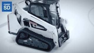 Compact track loader tracks: the Camso CTL SD track excelling on ice