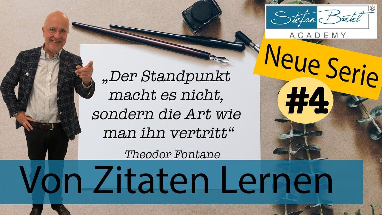 Zitat Theodor Fontane Der Standpunkt macht es nicht, die