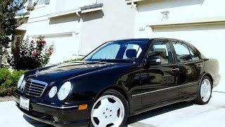 Mercedes Benz E320 или просто Очкарик))
