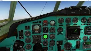 tu 154 vor adf navigation