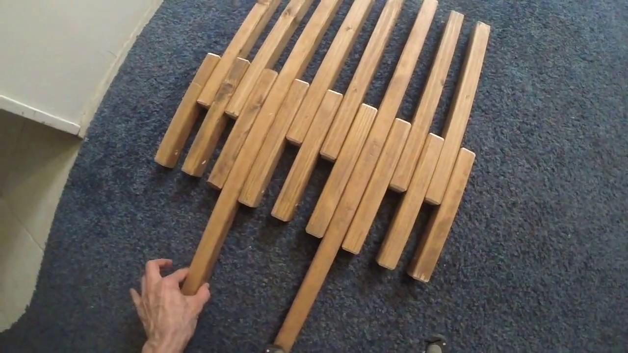 Diy Kentucky Stick Chair Youtube