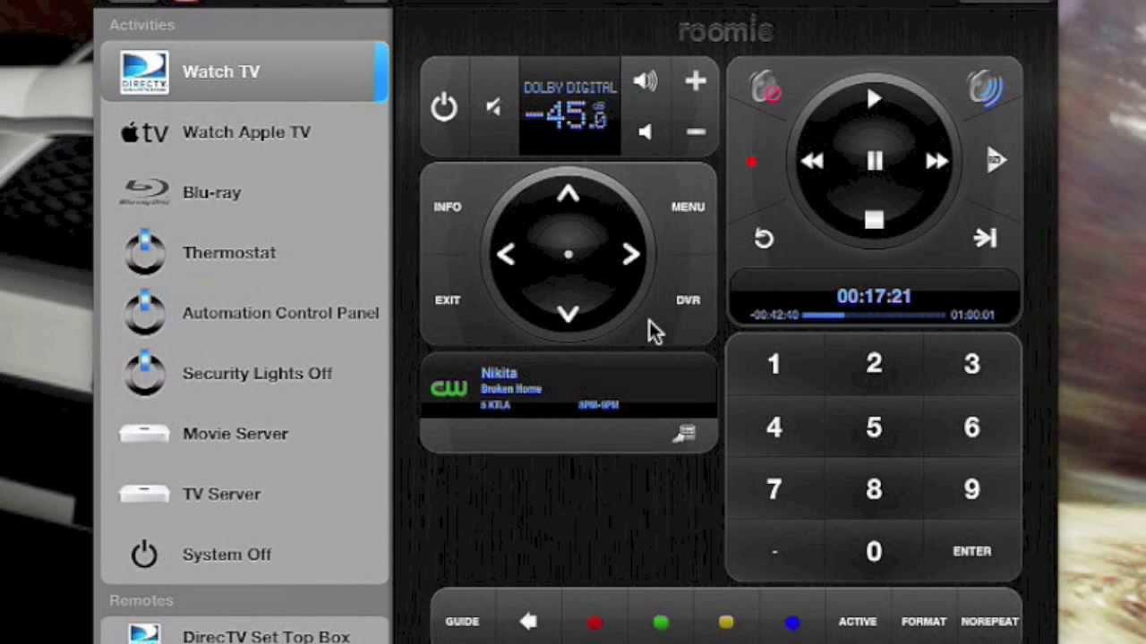 how to setup harmony remote to watch netflex