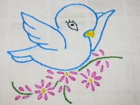 Embroidery Designs For Beginners Youtube