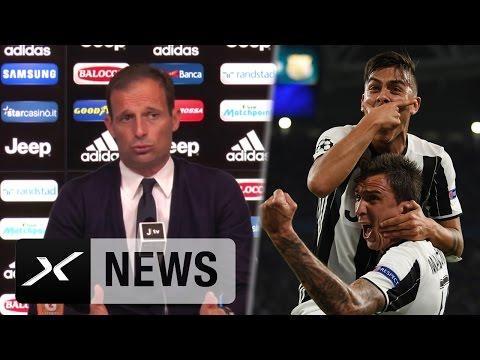 Massimiliano Allegri stellt Paulo Dybala mit Neymar auf eine Stufe | Pescara - Juventus Turin