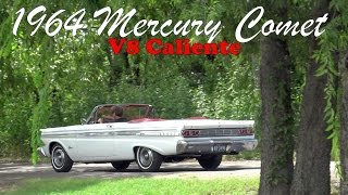 Texas survivor 1964 Mercury Comet V8 Caliente Convertible up close in 4K UHD