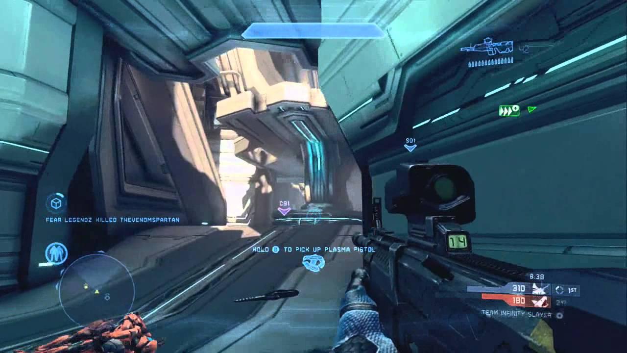 Halo 4- Multiplayer Gameplay- Haven, Infinity Slayer - YouTube