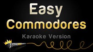 Commodores - Easy (Karaoke Version)