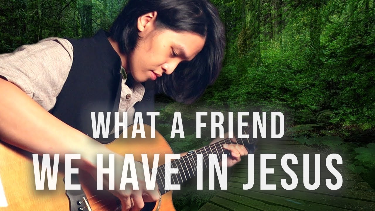 'What a Friend We Have in Jesus' - Acoustic Fingerstyle Guitar | Neil Chan