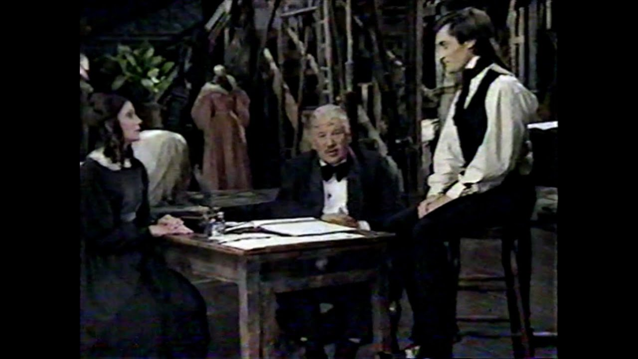 """Download """"Nicholas Nickleby"""" animated opening, Ustinov segments, Roger Rees and Emily Richard interview"""