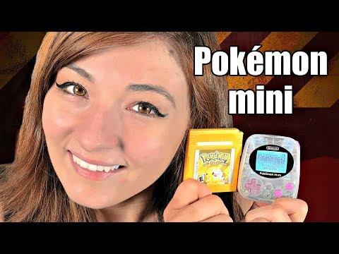 Nintendo's SMALLEST & MOST OBSCURE game console! - Pokemon Mini + 10 Games