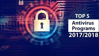 Top 5 Antivirus Programs 2017&2018 - 5 Best Antivirus 2017&2018   Top 5
