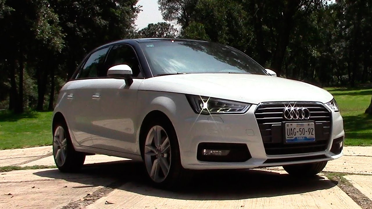 audi a1 sportback 2016 a prueba autocosmos youtube. Black Bedroom Furniture Sets. Home Design Ideas