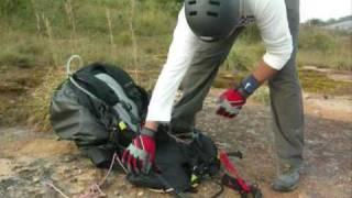 Paragliding Nandi-2 East by Harshavardhan & Naren.