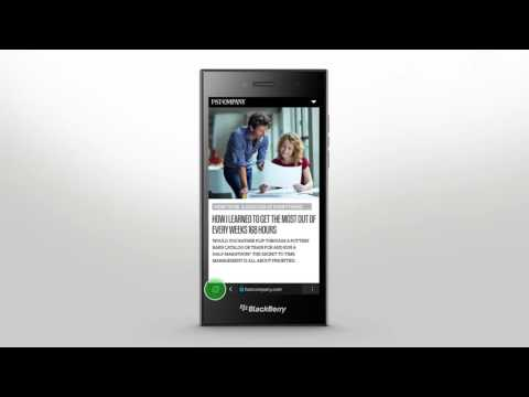 BlackBerry Leap - Browser Basics: Official How To Demo
