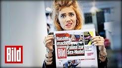 Palina Rojinski nackt in Russland | Prank mit TV-Star