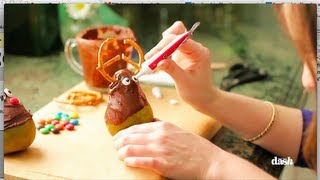 Gambar cover Chocolate Covered Reindeer Pears | Food Fun 101 with Shannon McCook