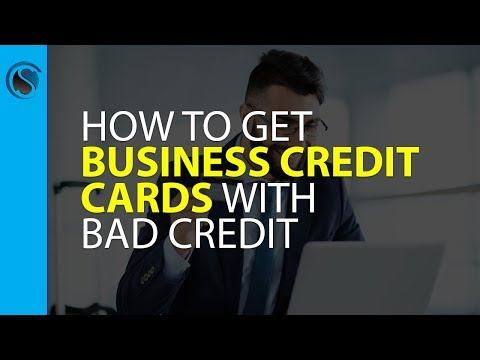 Business Credit Cards for Bad Credit... How to Get an Initial Business Credit Profile and Score