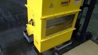 Tambor Magnético Bramis separação magnética  plastico e ferro.
