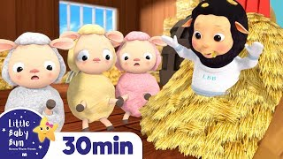 Hickory Dickory Dock! +More Nursery Rhymes - ABCs and 123s & Songs For Kids! Little Baby Bum