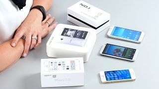 HTC One, Galaxy S5, iPhone 5s - Fake Smartphones - Test deutsch | CHIP