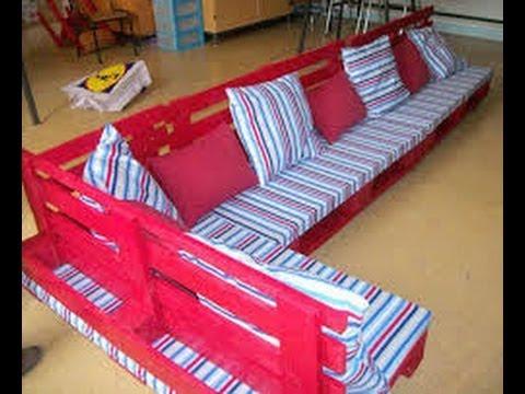 Pallet Furniture 35 Ideas