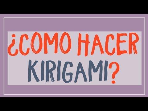 ¿como hacer kirigami paso a paso? Descubre cómo aprender a plegar papel paso a paso
