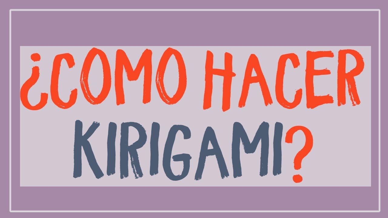 como hacer kirigami paso a paso? Descubre cómo aprender a plegar ...