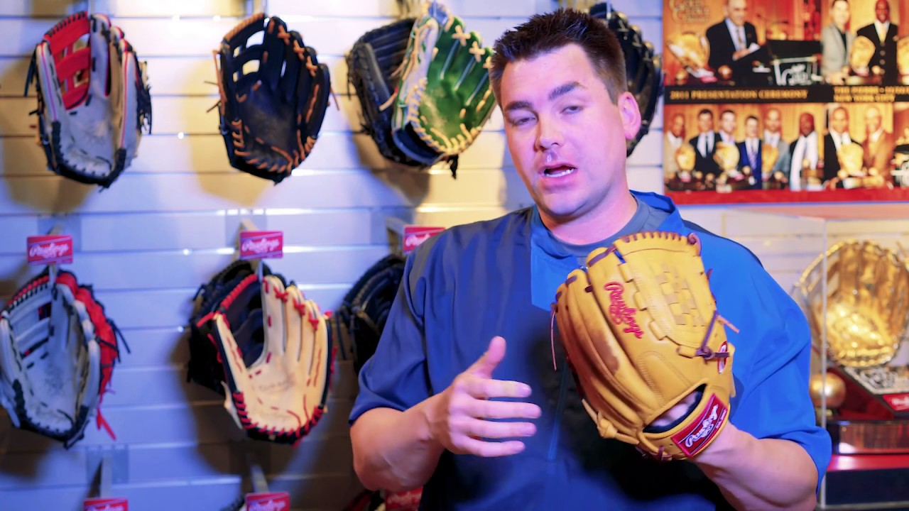how to break in a glove according to rawlings