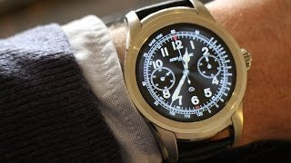 mont Blanc Summit Smartwatch - Hands On