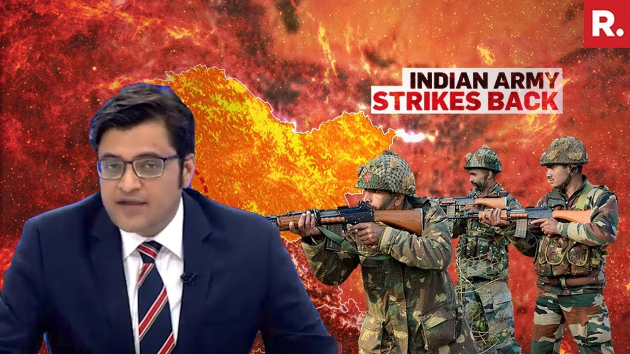 India Made Its Intent Clear By LoC Counter Strike? | The Debate With Arnab Goswami